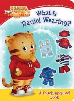 What is Daniel Wearing? (Board book)