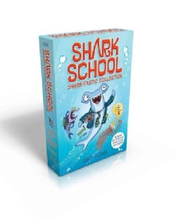 Shark School Shark-Tastic Collection: Deep-Sea Disaster / Lights! Camera! Hammerhead! / Squid-Napped! / The Boy W... (Paperback)