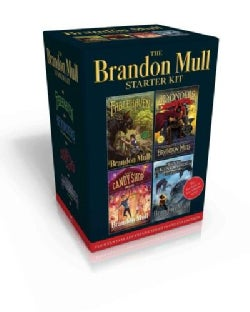 The Brandon Mull Starter Kit: Fablehaven / A World Without Heroes / The Candy Shop War / Sky Raiders (Paperback)