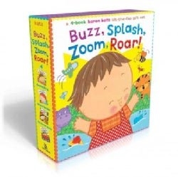 Buzz, Splash, Roar, Zoom!: Buzz, Buzz, Baby!; Splish, Splash, Baby!; Roar, Roar, Baby!; Zoom, Zoom, Baby! (Board book)