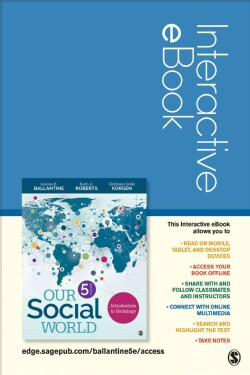 Our Social World Interactive Ebook Access Code: Introduction to Sociology (Other merchandise)