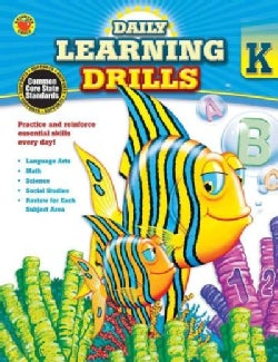 Daily Learning Drills, Grade K (Paperback)
