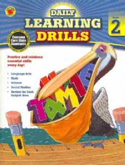 Daily Learning Drills, Grade 2 (Paperback)
