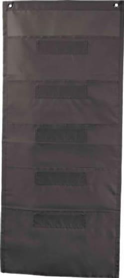 File Folder Storage: Black Pocket Chart Storage (Hardcover)