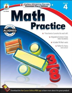 Math Practice, Grade 4: Common Core Edition (Paperback)