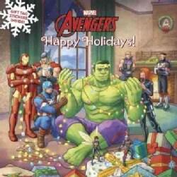 Marvel Avengers Happy Holidays! (Paperback)