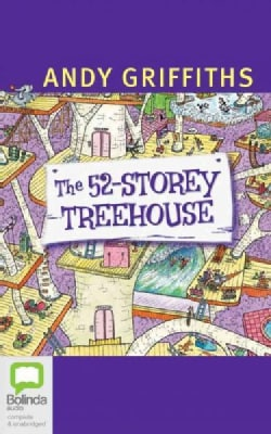 The 52-Story Treehouse (CD-Audio)