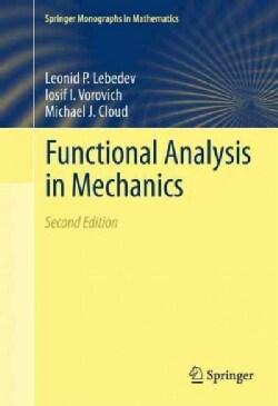 Functional Analysis in Mechanics (Paperback)