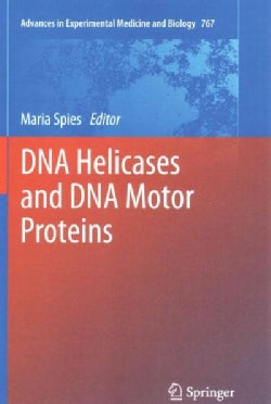 DNA Helicases and DNA Motor Proteins (Paperback)