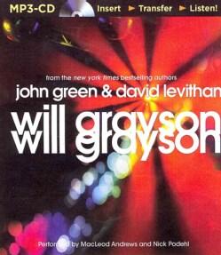 Will Grayson, Will Grayson (CD-Audio)
