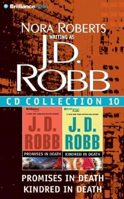 J. D. Robb CD Collection 10: Promises in Death / Kindred in Death (CD-Audio)