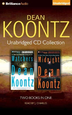 Dean Koontz Unabridged Cd Collection: Watchers, Midnight (CD-Audio)