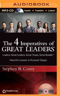 The 4 Imperatives of Great Leaders (CD-Audio)