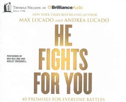 He Fights for You: 40 Promises for Everyday Battles (CD-Audio)