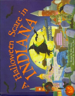A Halloween Scare in Indiana (Hardcover)