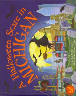 A Halloween Scare in Michigan (Hardcover)