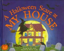 A Halloween Scare at My House (Hardcover)