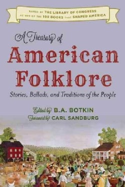 A Treasury of American Folklore (Hardcover)
