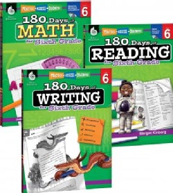 180 Days of Reading, Writing and Math for Sixth Grade: Practice, Assess, Diagnosis
