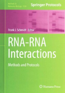 RNA-RNA Interactions: Methods and Protocols (Hardcover)