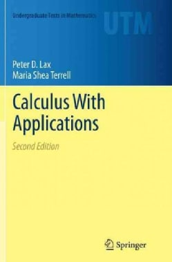 Calculus With Applications and Computing (Paperback)