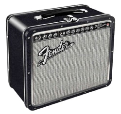 Fender Black Tolex Metal Lunchbox (General merchandise)