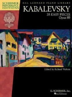 35 Easy Pieces, Opus 89 (Paperback)