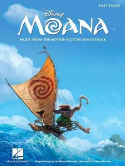 Moana: Music from the Motion Picture Soundtrack: Easy Piano (Paperback)