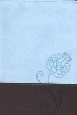 Santa Biblia / Holy Bible: Nueva Traduccion Viviente, Azul / Chocolate, SentiPiel (Paperback)