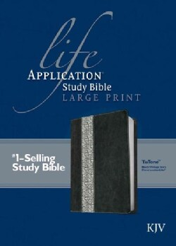 Life Application Study Bible: King James Version Black/Vintage Ivory Floral TuTone LeatherLike (Paperback)