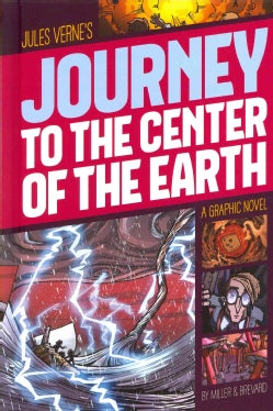 Jules Verne's Journey to the Center of the Earth (Hardcover)