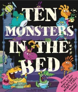 Ten Monsters in the Bed (Hardcover)