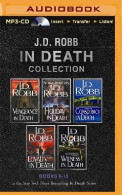 J. D. Robb in Death Collection: Vengeance in Death / Holiday in Death / Conspiracy in Death / Loyalty in Death / W... (CD-Audio)