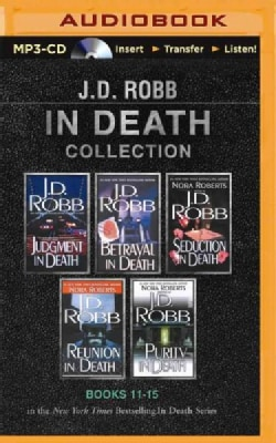 J. D. Robb in Death Collection: Judgment in Death / Betrayal in Death / Seduction in Death / Reunion in Death / Pu... (CD-Audio)
