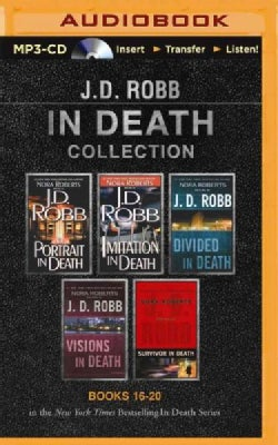 In Death Collection: Portrait in Death / Imitation in Death / Divided in Death / Visions in Death / Survivor in Death (CD-Audio)