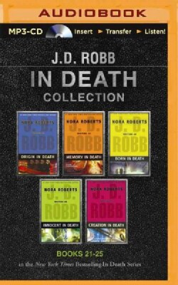 J. D. Robb in Death Collection: Origin in Death / Memory in Death / Born in Death / Innocent in Death / Creation i... (CD-Audio)