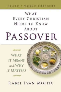 What Every Christian Needs to Know About Passover: What It Means and Why It Matters (Hardcover)