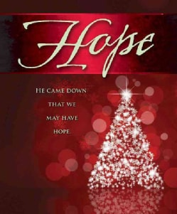 Hope Tree Advent Bulletin, Large Pkg of 50 (Other book format)