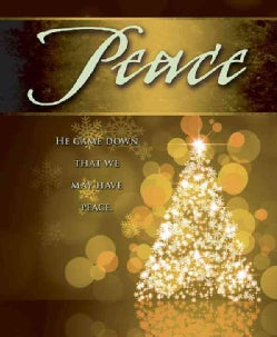 Peace Tree Advent Bulletin, Large Pkg of 50 (Other book format)