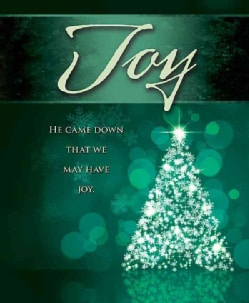 Joy Tree Advent Bulletin, Large Pkg of 50 (Other book format)