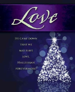 Love Tree Advent Bulletin, Large Pkg of 50 (Other book format)