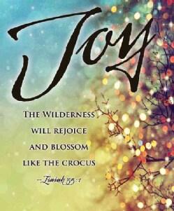 Joy Lights Images Advent Bulletin, Large, Pkg of 50: Package of 50 (Other book format)