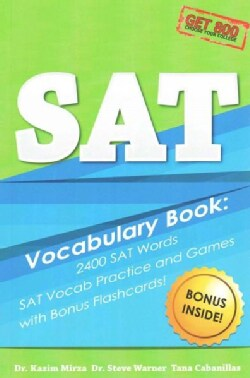 SAT Vocabulary Book: 2400 ATWords, SAT Vocab Practice and Games with Bonus Flash Cards (Paperback)