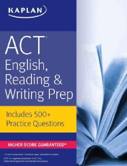 Kaplan ACT English, Reading, & Writing Prep (Paperback)