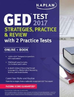 Kaplan GED Test 2017 + Online Website: Strategies, Practice & Review (Paperback)