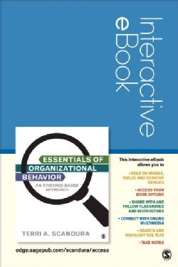 Essentials of Organizational Behavior: An Evidence-based Approach (Other merchandise)