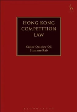 Hong Kong Competition Law (Hardcover)