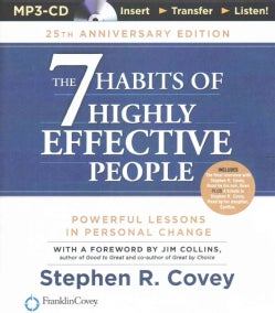 The 7 Habits of Highly Effective People: Powerful Lessons in Person Chage (CD-Audio)