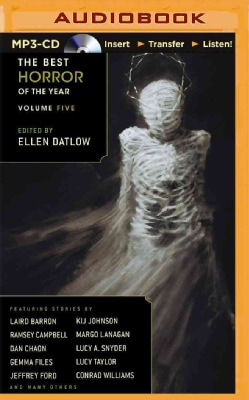 The Best Horror of the Year (CD-Audio)