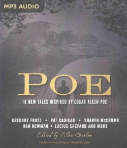 Poe: 18 New Tales Inspired by Edgar Allan Poe (CD-Audio)